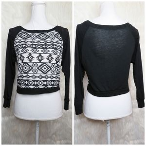 Ambiance Apparel Crop Sweater